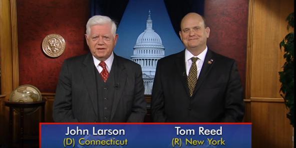 Rancangan Undang-undang tentang Orang Cacat Tetap Dapat Bekerja oleh Tom Reed dan Larson